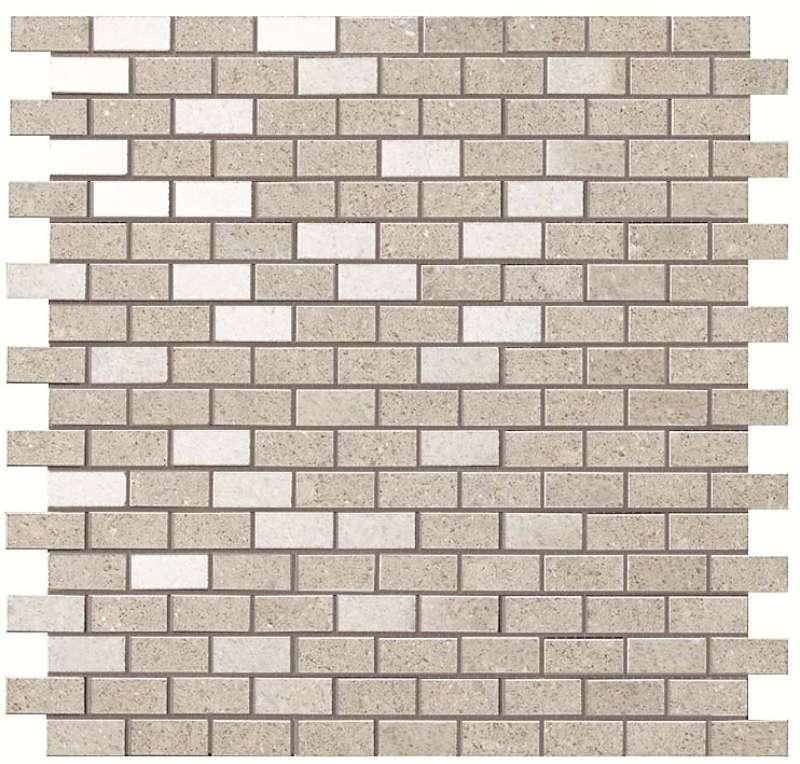 Kone-Silver-Mosaico-Brick-12X12-R-AUOL