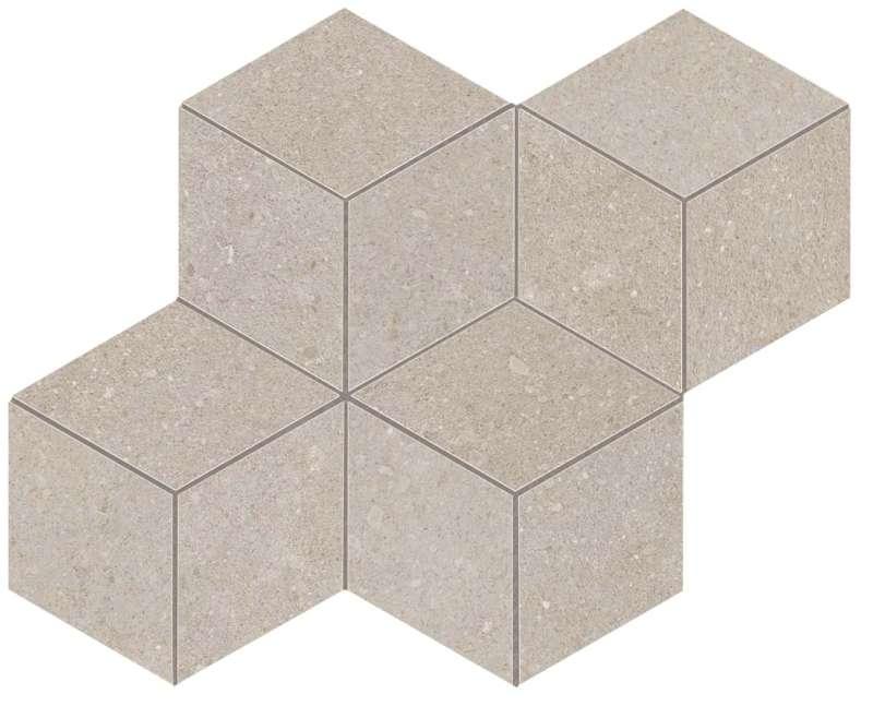 Kone-Silver-Mosaico-Esagono-12X14-AUN3