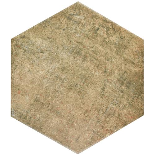 Abadia Hex Natural 8-5/8 in. x 9-7/8 in. Porcelain Floor and Wall Tile