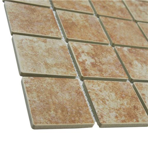 Colorado Quad Mesa 12-1/2 in. x 12-1/2 in. x 5 mm Porcelain Mosaic Tile
