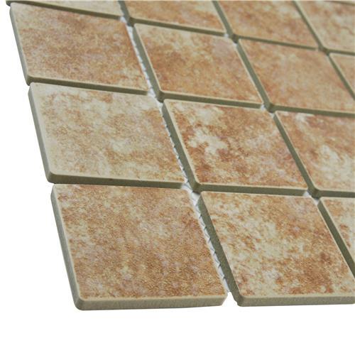 Colorado Quad Mesa 12-1/2 in. x 12-1/2 in. x 5 mm Porcelain Mosaic Tile
