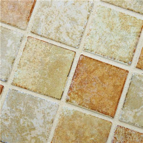 Colorado Quad Adobe 12-1/2 in. x 12-1/2 in. x 5 mm Porcelain Mosaic Tile