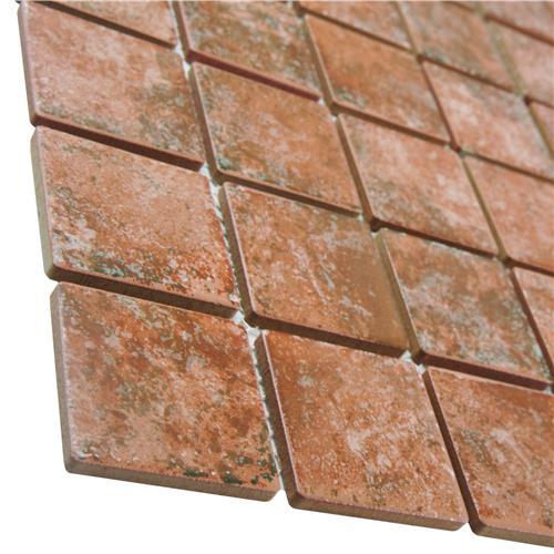 Colorado Quad Pueblo 12-1/2 in. x 12-1/2 in. x 5 mm Porcelain Mosaic Tile