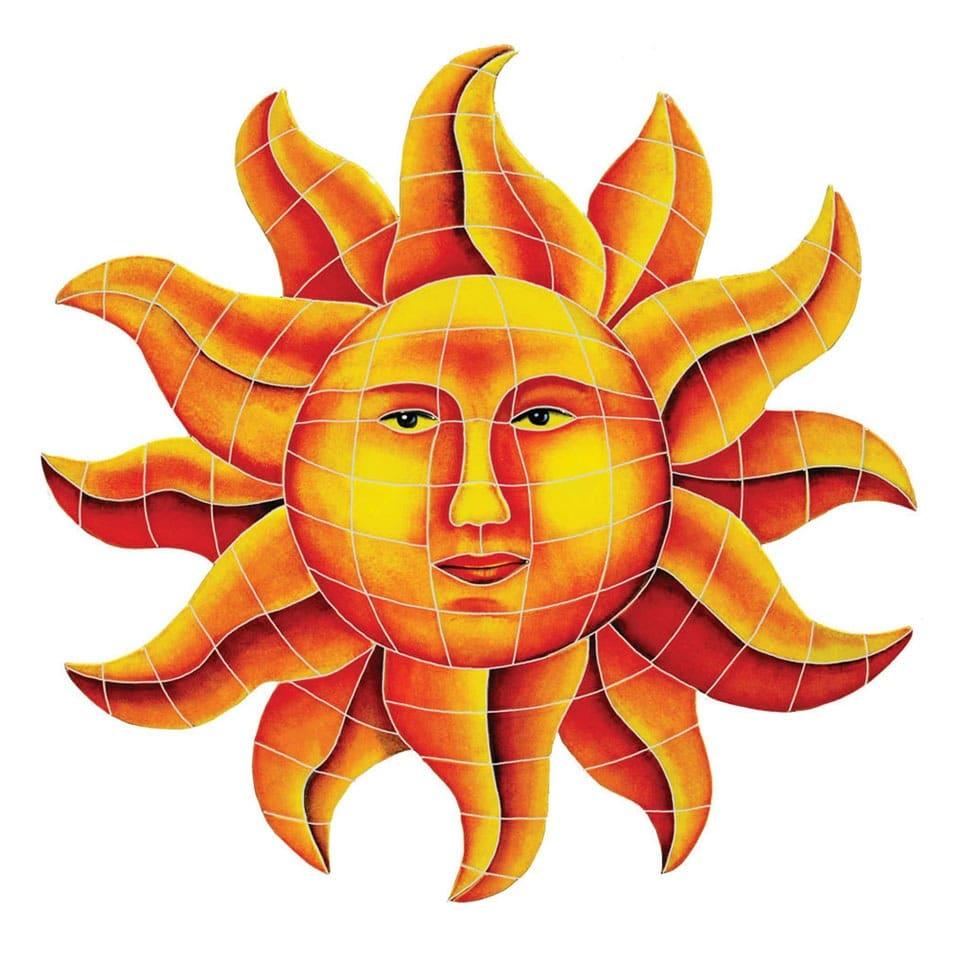 Medallion-Celestial-Sun