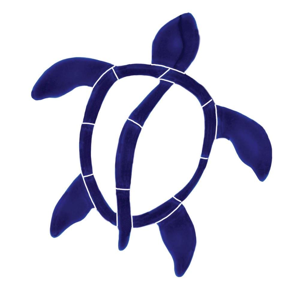 Turtle-6in-blue